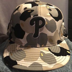 New Era Phillies Fitted Hat